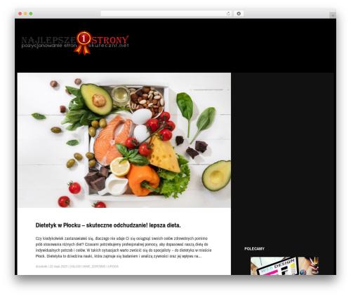 Gibson WordPress template for business - transport-osob.net