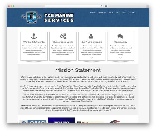 isis WordPress theme free download - tandhmarine.com