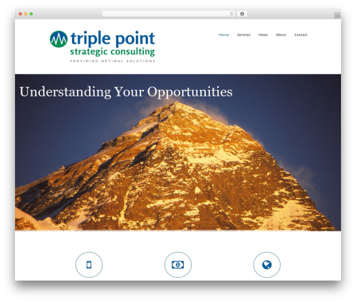 Mova template WordPress - tpsconsulting.net