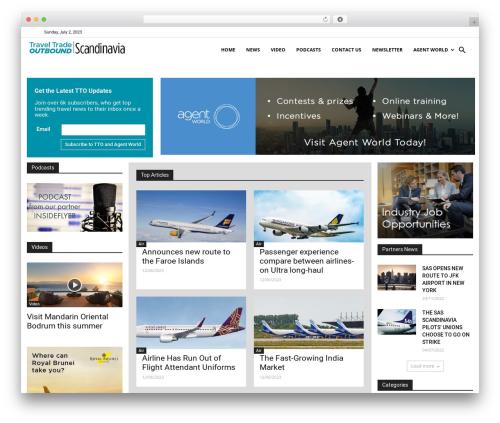 Newspaper theme WordPress - ttoscandinavia.com