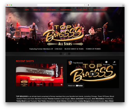 Free WordPress Easy Video Player plugin - topbrassss.com