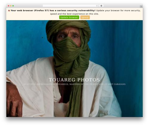 Template WordPress Imagely Simpicity - touaregphotos.com