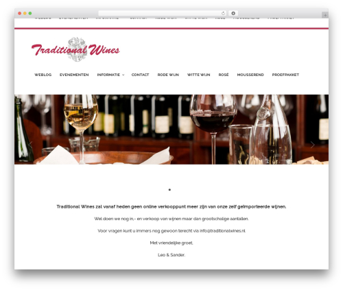 WordPress pixlikes plugin - traditionalwines.nl