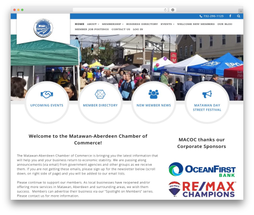 Theme WordPress Chamber Beautiful - macocnj.com