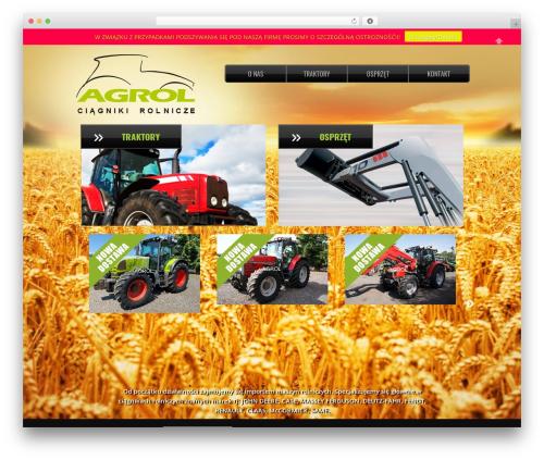 Theme WordPress Real Property - traktory.biz