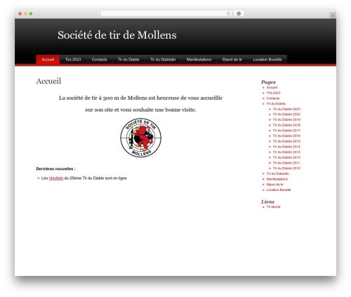 Theme WordPress Stardust - tir-mollens.com