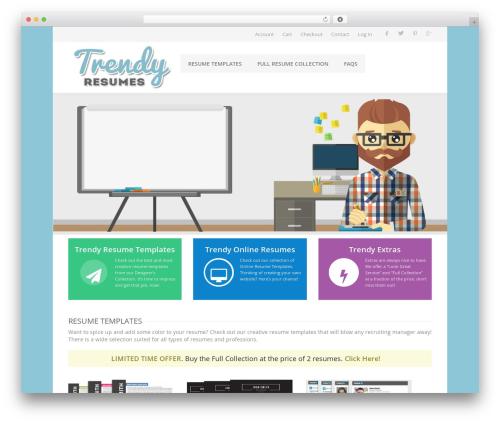 WordPress woocommerce-notification plugin - trendyresumes.com