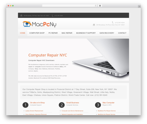theme1741 top WordPress theme - macpcny.com