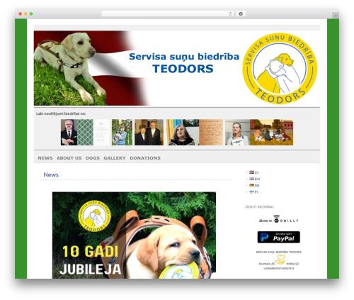 WordPress template picolight - teodors.org