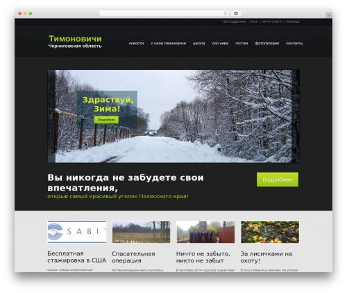 WordPress theme theme1404 - timonovichi.com.ua
