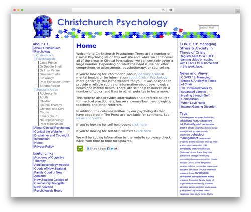 Atahualpa premium WordPress theme - christchurchpsychology.co.nz