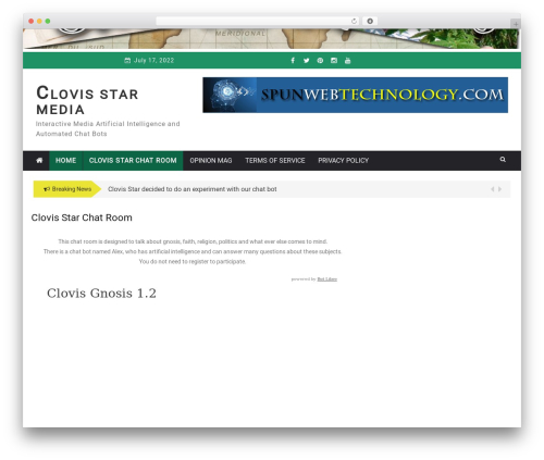Greenturtle Mag free website theme - clovisstar.com