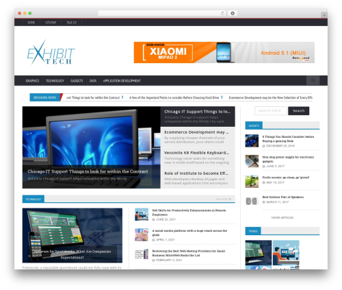 Novomag Premium Theme [Shared By themes24x7.com] WordPress blog theme - exhibit-tech.org