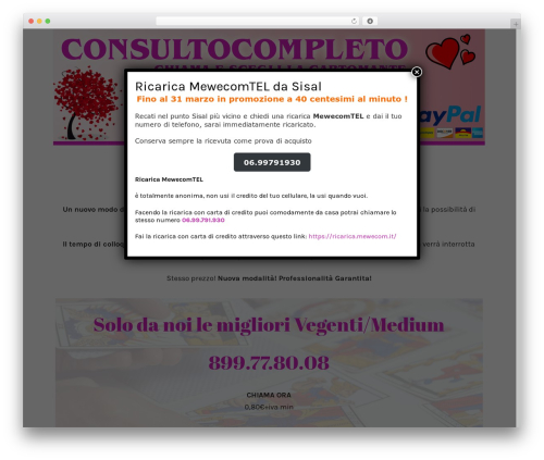 Oliver best WordPress template - consultocompleto.com