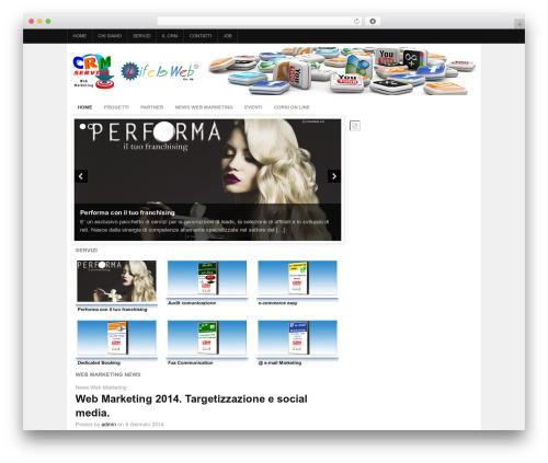 Project AR2 premium WordPress theme - crms.it