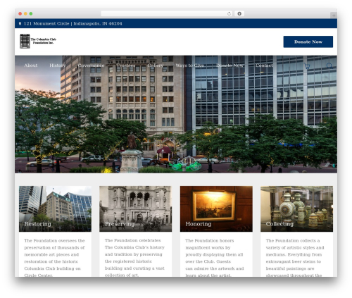 Template WordPress HnK - columbiaclubfoundationinc.com