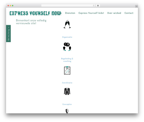 WordPress theme Chester - wickedevents.nl