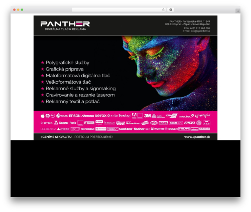 Divi top WordPress theme - xpanther.sk