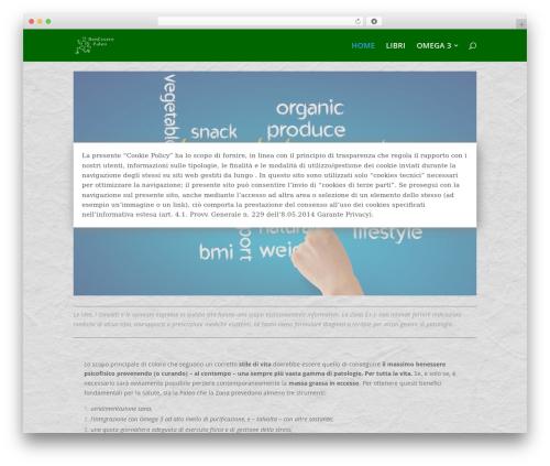 Theme WordPress Divi - benesserepaleo.it