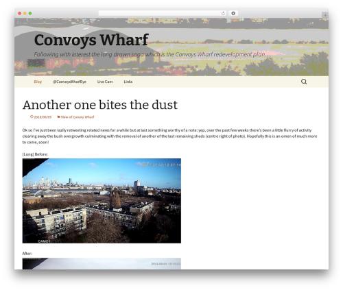 Twenty Thirteen free WordPress theme - convoyswharf.info
