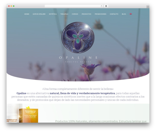 WP template Jupiter - opaline.es