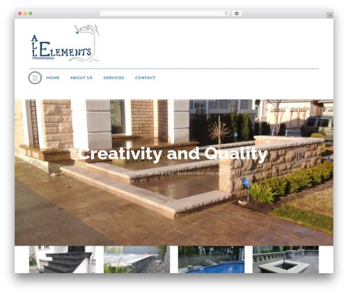 ASNA top WordPress theme - allelementslandscaping.com
