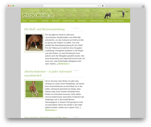 Best WordPress theme Ashford - pferde-weide.de