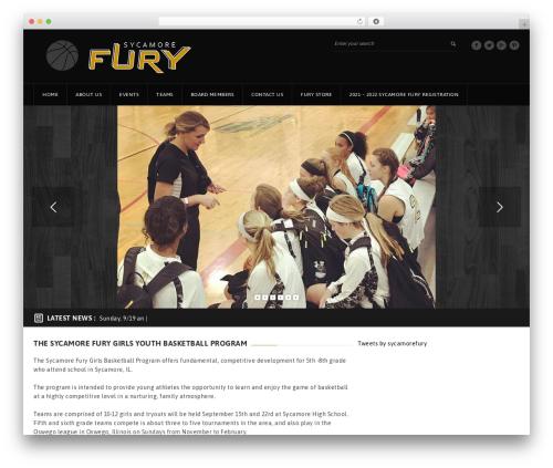 GoalKlub best WordPress theme - sycamorefury.org