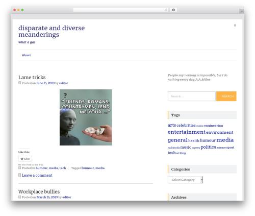 Speedy WordPress theme download - waxpoetry.net