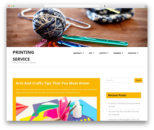WP template Beautify - printingservicesnyc.info