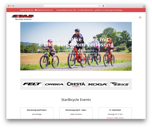WordPress cff-masonry plugin - starbicycle.ch