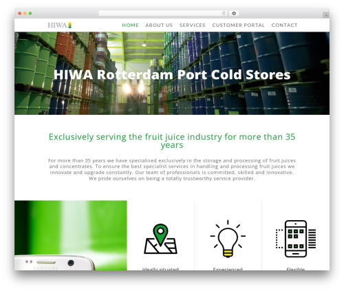 Divi WordPress shopping theme - hiwa.nl
