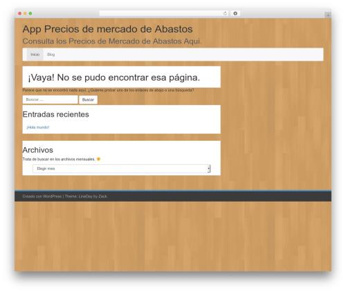 LineDay WordPress free download - app-precios-de-mercado-de-abastos.net