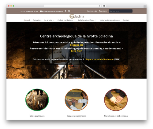 Template WordPress Andenne Child - scladina.be