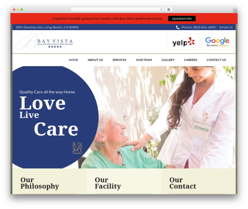Best WordPress theme CountryVilla - bayvistahc.com