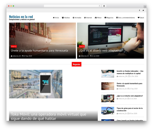 Good News Lite WordPress news theme - conspiranoicos.com