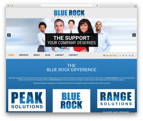 Knoxweb WP template - bluerockconsultants.net