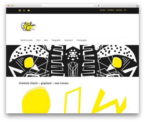 Make best free WordPress theme - charly-utecht.fr