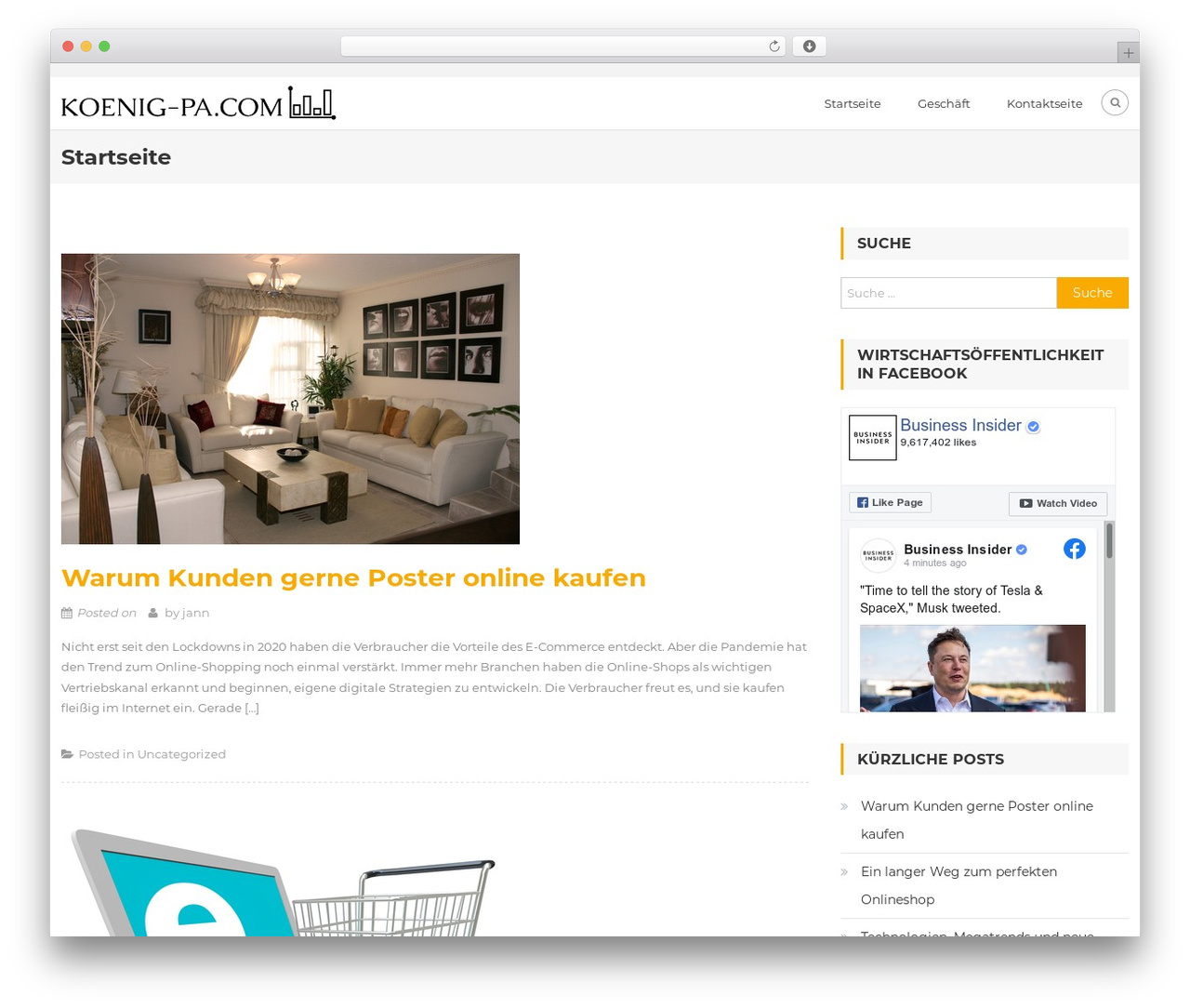 Owner WordPress template free download - koenig-pa.com