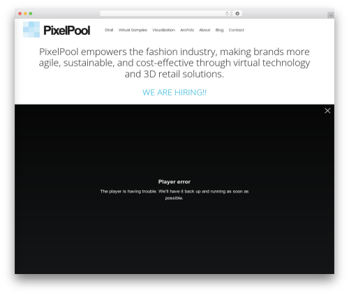 TM Moody WordPress theme design - pixelpool.com