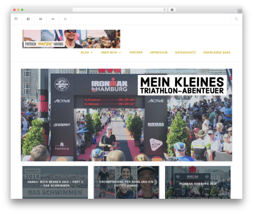 WordPress theme Ixion - einheit45.de