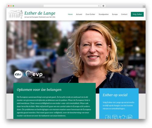 WordPress theme Movedo - estherdelange.nl