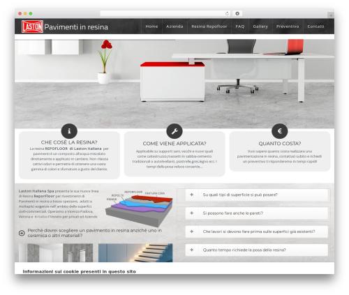 WP Omnia best WordPress template - pavimentiresinavicenza.it
