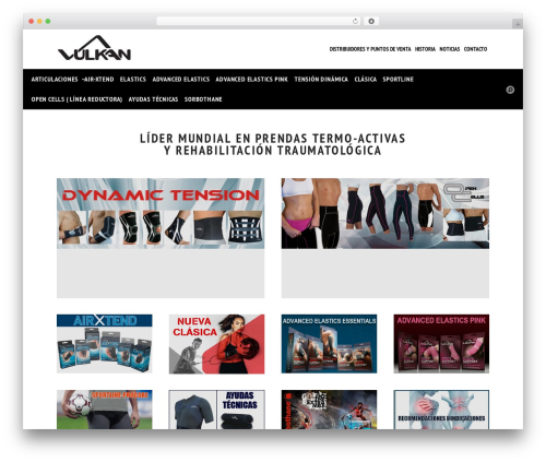 Best WordPress theme Wowmall - vulkanspain.com