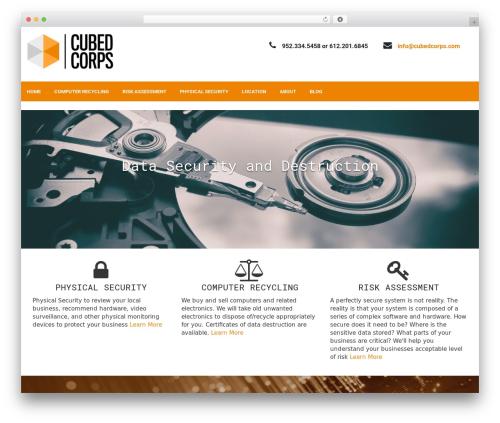 Fixit Lite theme WordPress - cubedcorps.com