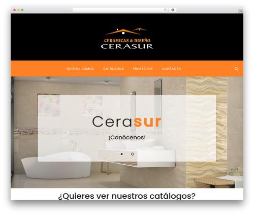 Softsofa WordPress theme - cerasur.com
