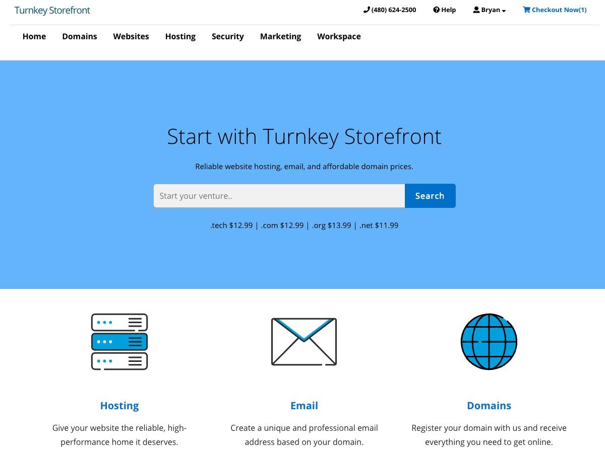Turnkey Storefront WordPress store theme