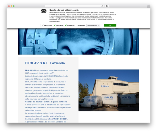 Busiprof premium WordPress theme - ekolav.com