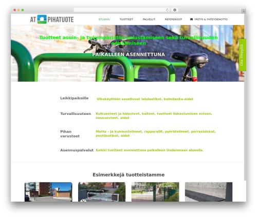 WordPress template Subway - at-pihatuote.fi