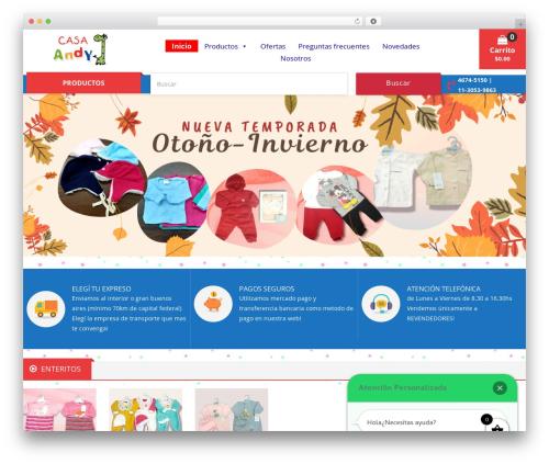 Caden WP template - casaandy.com.ar